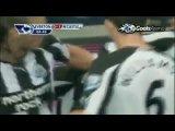 гол Бен Арфа в матче Эвертон-Ньюкасл 0:1
